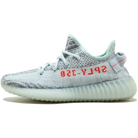 The Adidas Yeezy Boost 350 V2 Trfrm by Adidas Originals Yeezy Boost 350 V2 Blue Tint