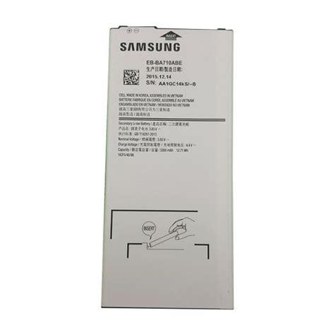 Battery Baterai Samsung Galaxy A7 2016 A710 Original Samsung Sein bateria original eb ba710abe samsung galaxy a7 2016 a710