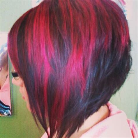 bob haircuts with red highlights pinterest the world s catalog of ideas