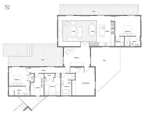 pavillion house plans three pavilion flat roof wanaka salmond architecture