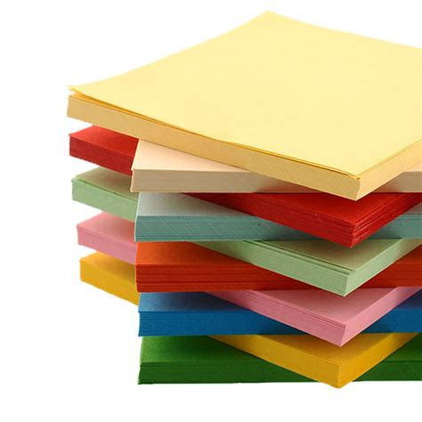 Sided Craft Paper - oem 100 pieces 10 10cm origami square diy colorful paper