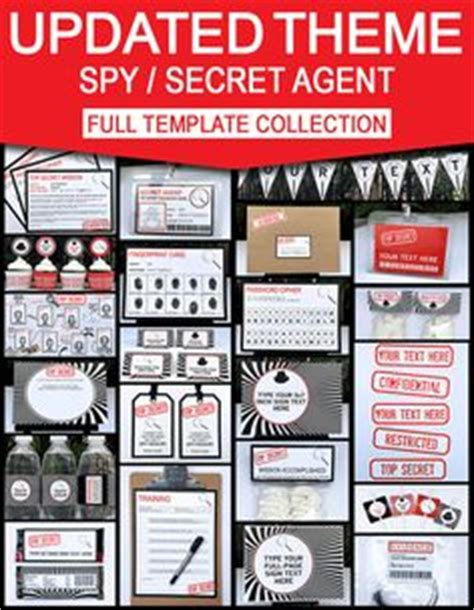 themes by james liberation code super cute party favors for your little secret agents