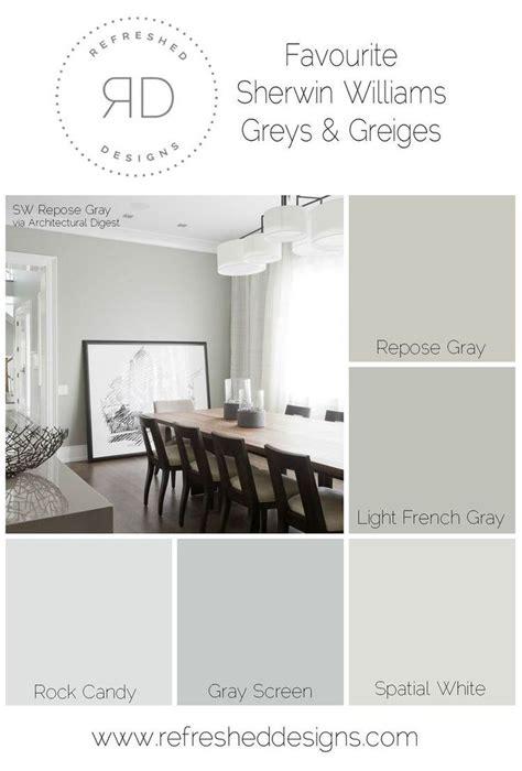 wandfarben schlafzimmer ideen 6002 die besten 25 sherwin williams perfekt greige ideen auf