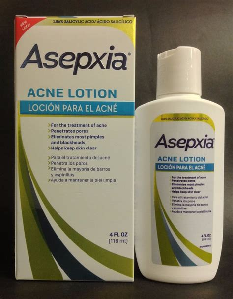 loria acne lotion by velcris one asepxia acne lotion 4 fl oz pimples blackheads locion