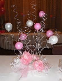 balloon centerpieces for tables swirl centerpiece 1st bd arty ideas