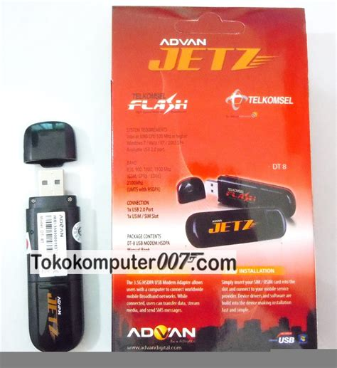 modem advan jetz mobile broadband via telkomsel flash tokokomputer007