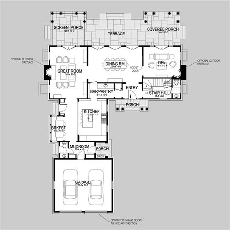 shingle style floor plans crane pond shingle style home plans by david neff architect