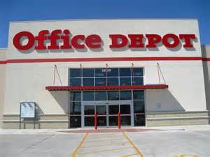 office depot refuses to print flyers against planned