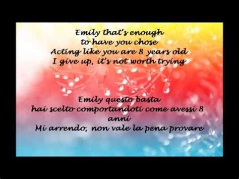 me two times testo e traduzione emily lyrics hd torrent
