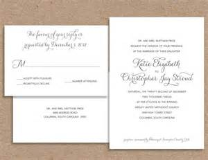 Wedding Invitation Wording Template by Wedding Invitation Wording Wedding Invitation Wordings