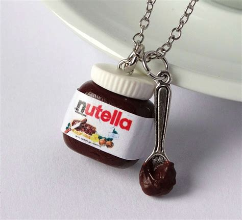 Shiny Stuff Creations Kawaii Nutella with Spoon Necklace ...