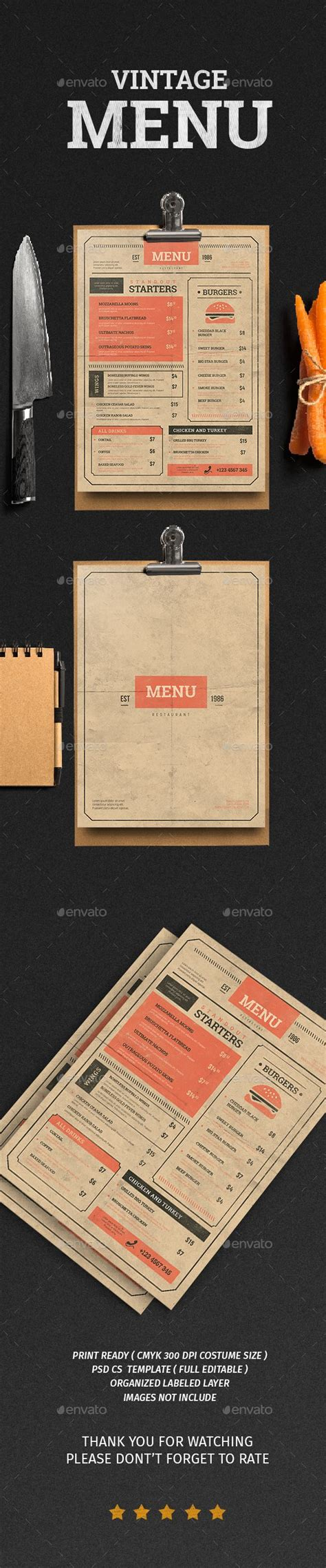 menu card layout ideas 25 best ideas about menu card template on pinterest