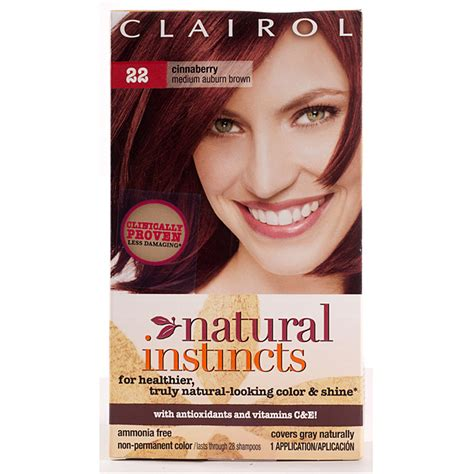 instincts hair color lovely instincts hair color 2 clairol