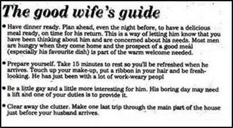 good housewife guide lets enjoy together a good wife s guide