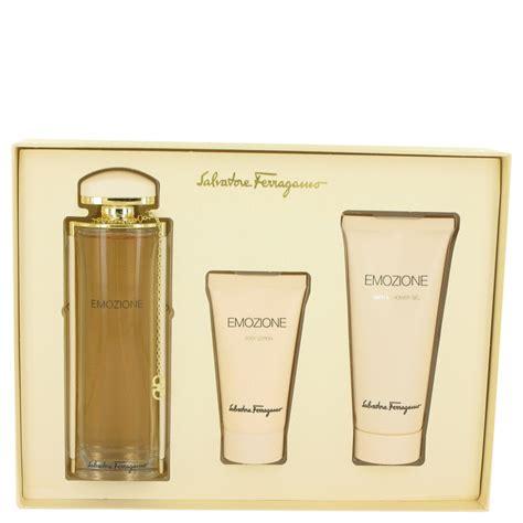 Salfatore Ferragamo Set Dompet Fm5158 emozione salvatore ferragamo 3 1 oz eau de parfum spray gift set for 3psc ebay