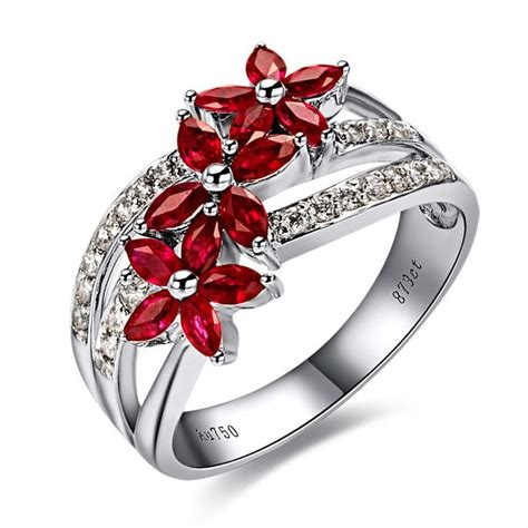 ruby engagement rings ruby engagement rings gold