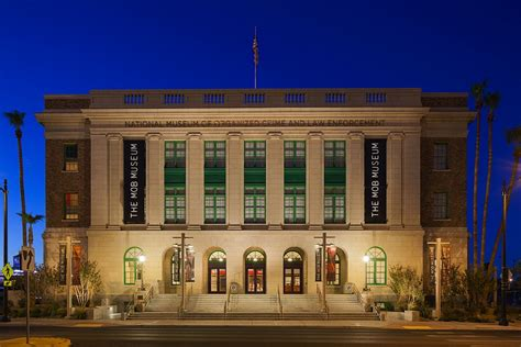 Museum Builders the mob museum in downtown las vegas the building
