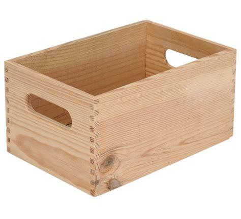 cajon de madera caja de madera basic ref 13909154 leroy merlin
