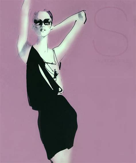 fashion illustration david downton david downton fashion illustrations trendland