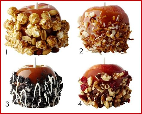 20 caramel apple toppings joyful scribblings