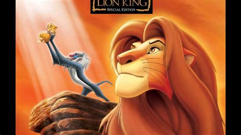 theme song lion king theme from lion king king of pride rock youtube