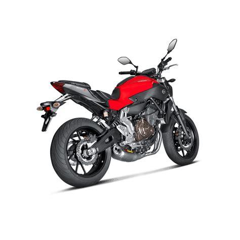 Motorrad Auspuff Betriebserlaubnis by Akrapovic Auspuff Yamaha Mt 07 Komplettanlage Mit Kat Und