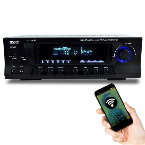 pyle ptaubt hybrid amplifier receiver home