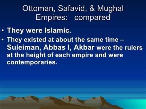 ottomans and safavids gunpowder empires compared