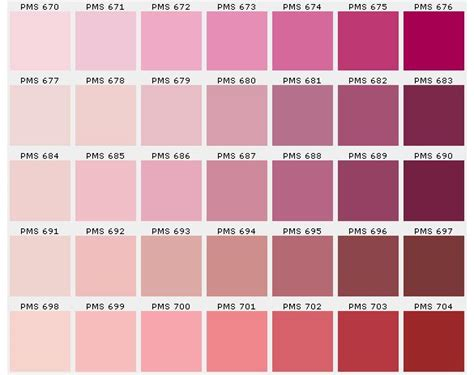 Gamme Pantone Colores Pinterest Inc Color
