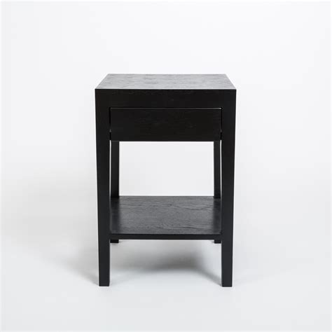Black Bedroom Table Ls by Selecting Small Black Bedside Table For The Bedroom Blogbeen