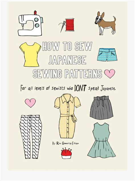 japanese pattern books english all you need to start making japanese sewing patterns in