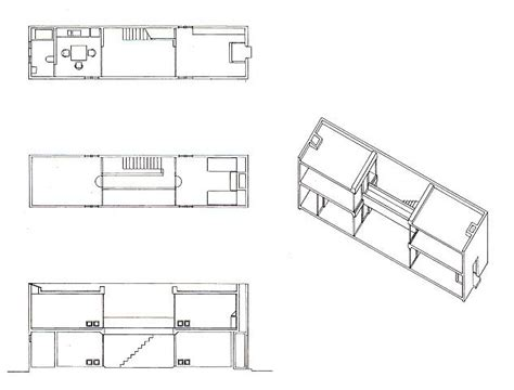azuma house plan azuma house row house data photos plans wikiarquitectura