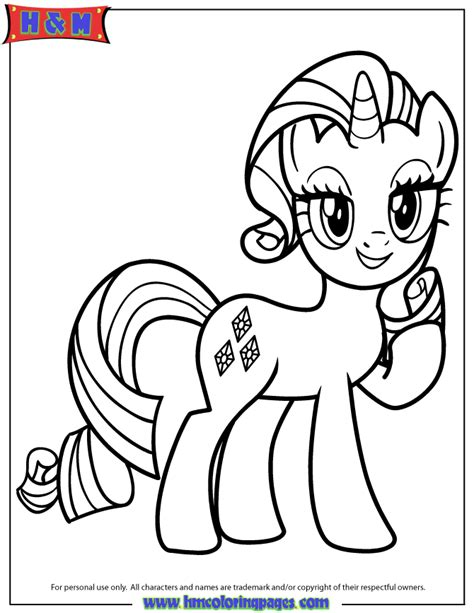 unicorn pony coloring pages unicorn pony rarity coloring page h m coloring pages