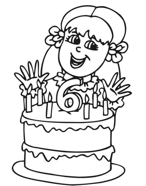 coloring page birthday girl girl birthday coloring pages for kids gt gt disney coloring pages