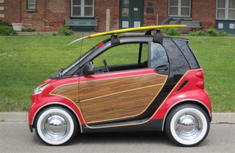 pimped out smart car heinous car pic of the day pimped out smart fortwo woody