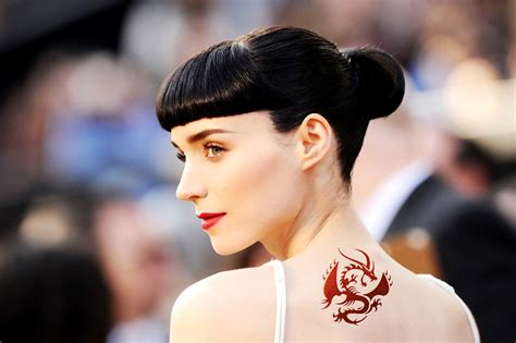 rooney mara dragon tattoo oscar nominee rooney mara with hd