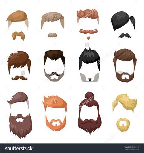 cartoon hairstyles male 1000 ideas about beards and hair on pinterest beard