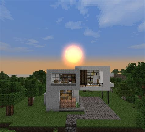 minecraft house simple simple modern house minecraft project