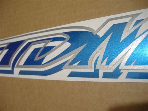 Yamaha Tdm Aufkleber by Yamaha Tdm 850 2000 4tx Decals Set Kit Blue Black