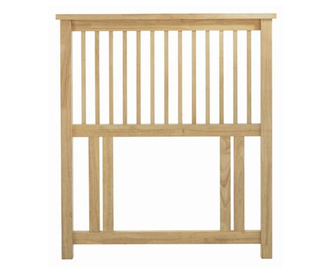 wooden headboards for single beds atlantis natural slatted single headboard