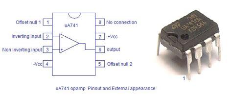 Dijamin Ua741 Ua 741 Ic Op square wave generator using ua741