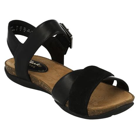 Sandal Casual Wedges Wanita 2 clarks casual summer sandals with buckle autumn air