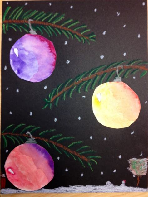 5th grade christmas crafts beautiful baubles for fifth grade tinyartroom
