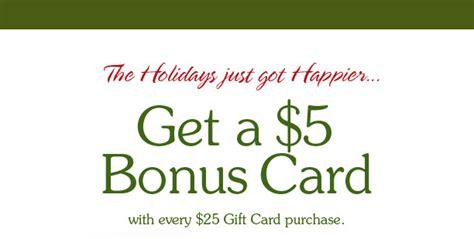 Macaroni Grill Gift Card Bonus - macaroni grill gift card deal