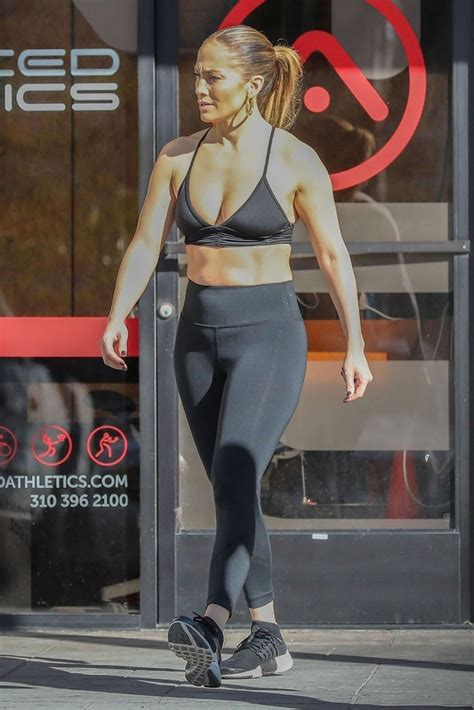 jennifer lopez booty   gym  venice beach