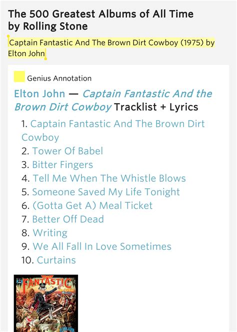 curtains lyrics elton john captain fantastic and the the 500 greatest albums of