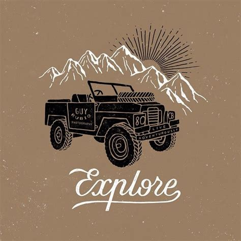 mountain jeep logo 312 best land rover s illustrations images on