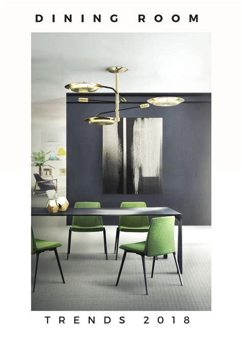 dining room ideas interior design trends 2018 home