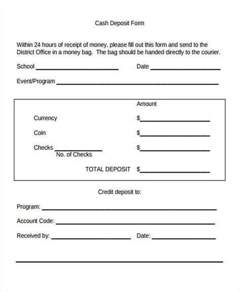 printable receipt for deposit printable receipt forms