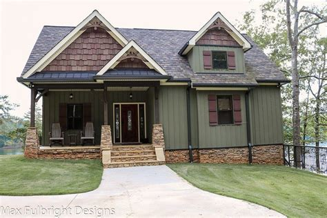 Craftsman Style House Plans With Walkout Basement by Small Cottage Plan With Walkout Basement Cottage Style